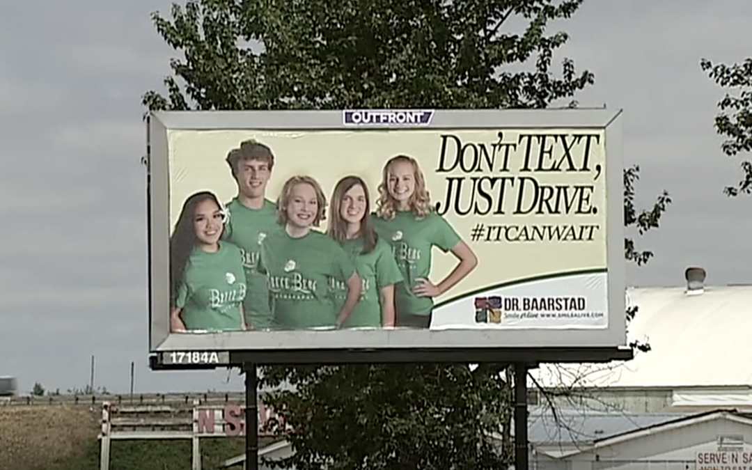 Local Billboards Promoting Safe Teen Driving in Eugene & Springfield